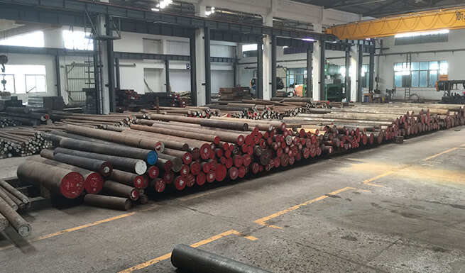 round bar steel warehouse