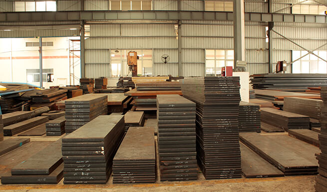 steel material sheet ware house