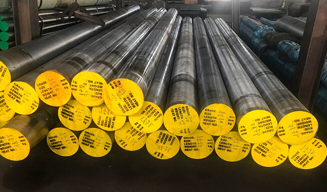 AISI 52100 bearing steel round bar